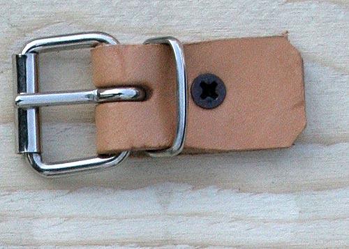 Fibbietta a Rullo con Passante da 2,5 Cm Colore Nikel.