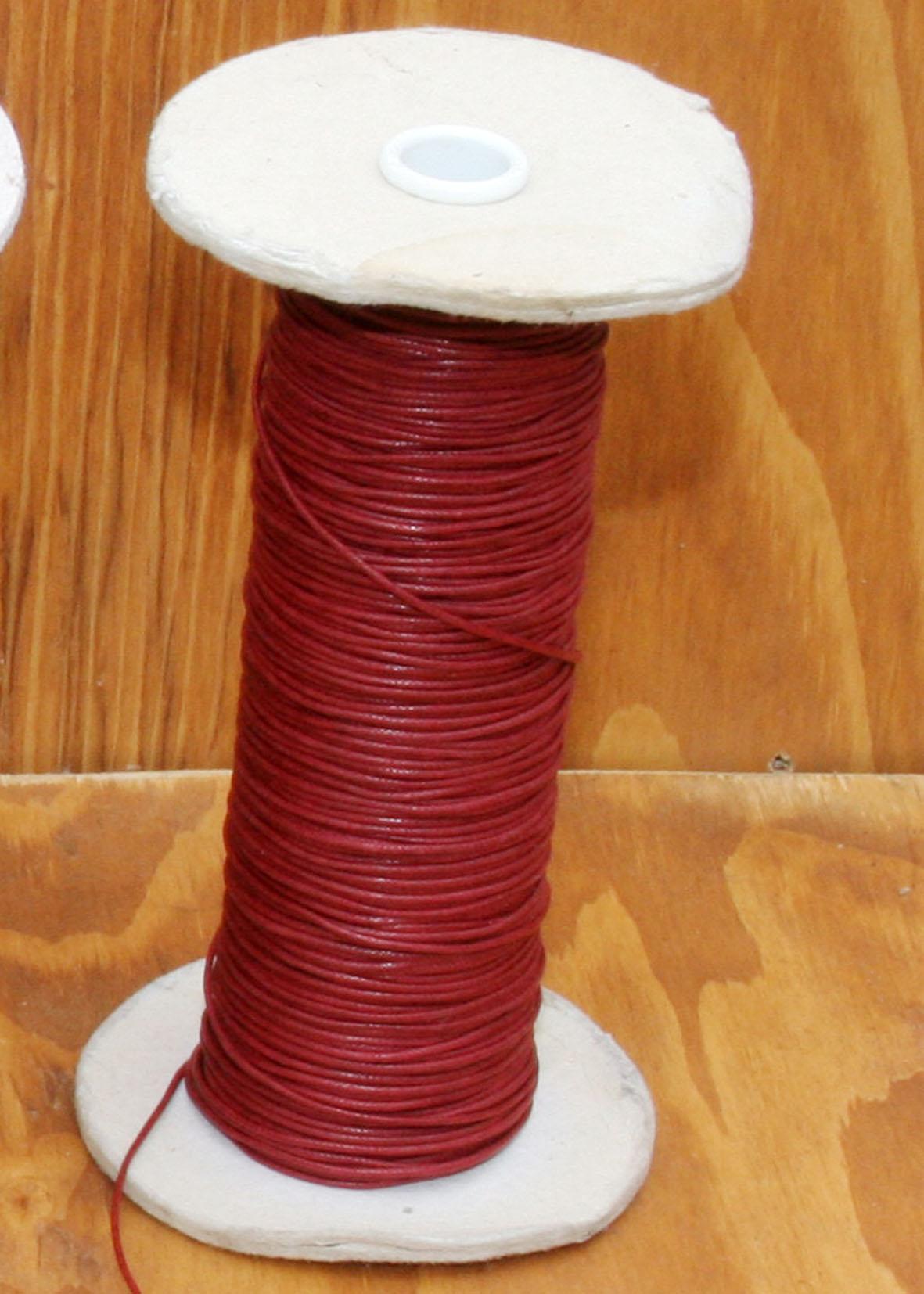 Filo Rosso Scuro in  Cotone Cerato.