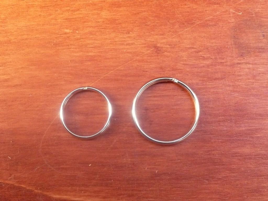 Anello a Spirale da 2,0 Cm Colore Nichel